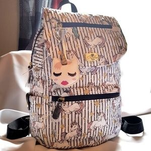 Quilted Unicorn Betsey Johnson Backpack